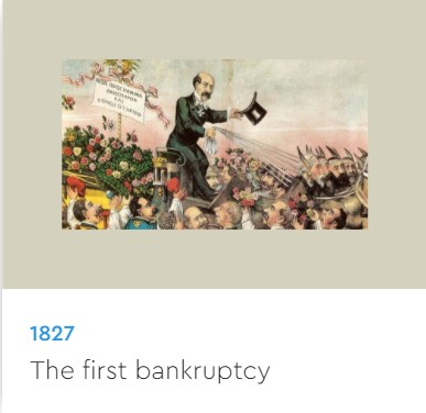 the 1st bankruptcy